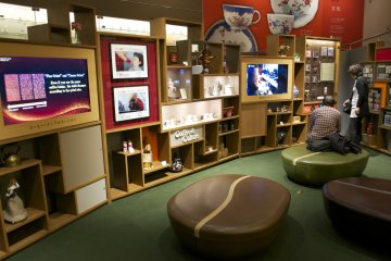 <p>Well-designed space at UCC Coffee Museum helps visitors discover coffee in relation to culture</p>