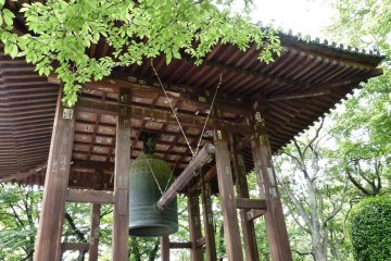The temple's bell has rung loud and clear for the people of Edo for hundreds of years.
