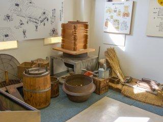 Alat tradisional pembuat natto