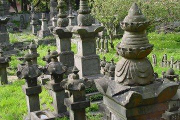 The Naito Family Grave in Kamakura