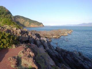 La côte rocheuse du Cap