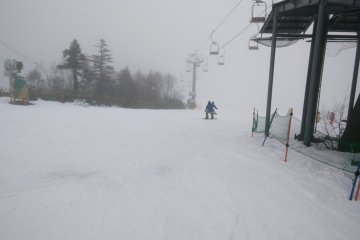 Early Season Skiing at Kagura