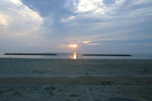 На следующий день вся дорога до Японского моря.