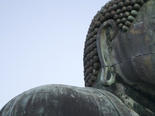 I couldn't help but notice little details on the Great Buddha