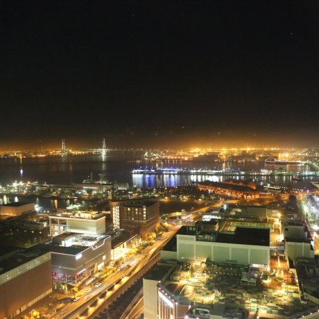 Night View from Cosmo Clock 21