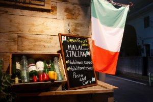 Tre colori yang mencerminkan suasana khas Italia
