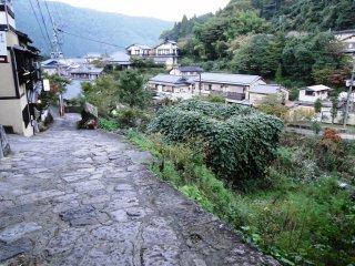 A view over Yunohira Onsen