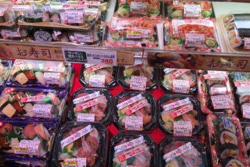 <p>&nbsp;If you go to Japanese supermarkets after 5pm, meals are usually marked down between 30 and 50 percent, leaving your options wide open for dinner</p>