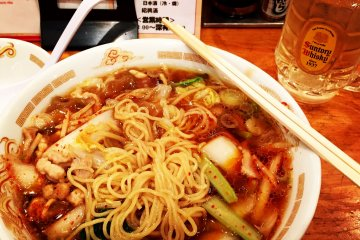 <p>Ramen is another favorite that can be enjoyed for lunch or dinner. You can even order these from machines which is great for tourists that are not familiar with reading Japanese menus</p>