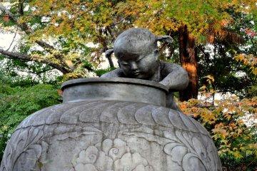 Musim gugur di Kuil Goryo Kyoto