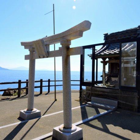 Ebisu Shrine on Echizen Beach