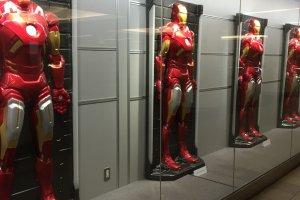 Marvel Comics and Star Wars dominated theGyoko-doriUnderground Gallery.