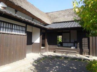 Courtyard of the Shimada House