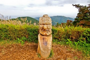 Hiking Mount Takao to Lake Sagami