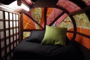 Suasana ruangan di kimono dormitory