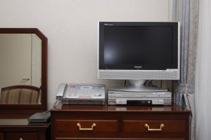 TV, DVD and fax