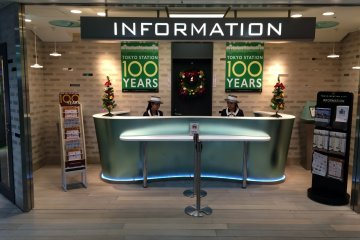 <p>Questions about the 100th Anniversary? Visit the Information booth.</p>