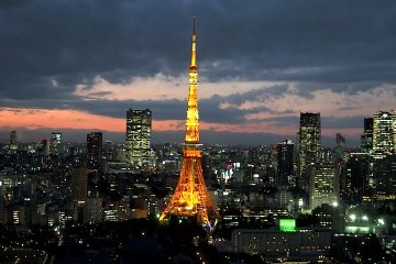 The Best View of Tokyo Tower