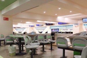 The 80 lane bowling center