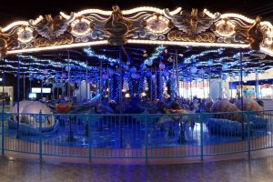 The carousel in 'Attraction Square'
