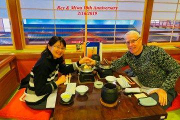 Our favorite crab restaurant in Yokohama Bay Area