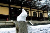 หิมะที่วัดนันเซ็นจิ