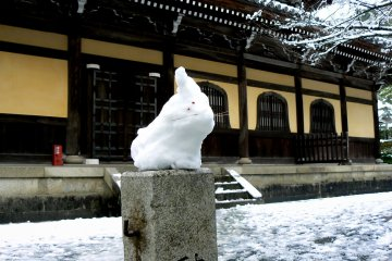 Snow at Nanzenji