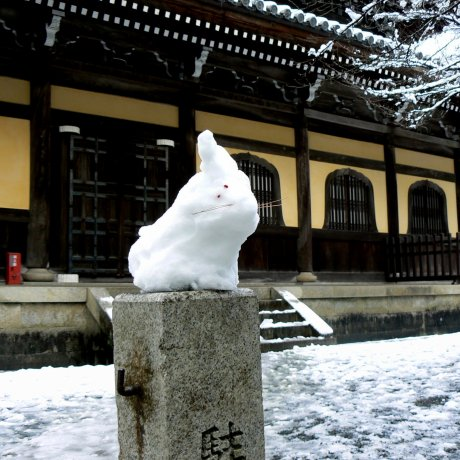Snow at Nanzenji