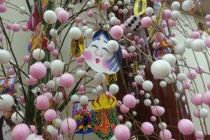 Plum blossom decoration