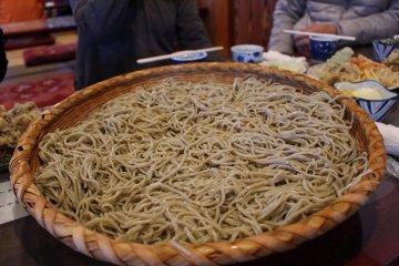Soba at Ishiyama