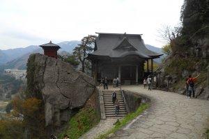 La vue depuis Yama-dera est magnifique