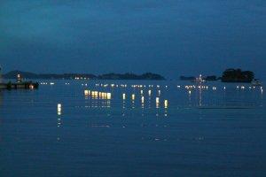 Matsushima Bay with ObonLanterns.