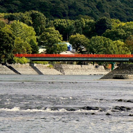 Bridges and Boats on the Uji River