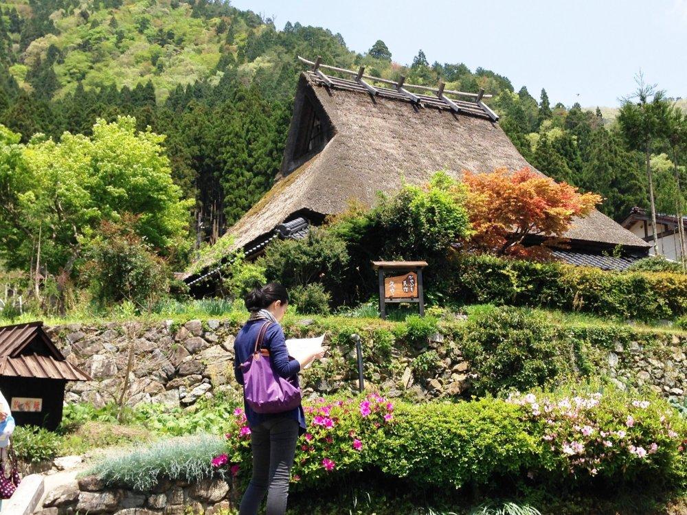 Miyama is a living museum, with the charm of Shirakawa-go, but only an hour from Kyoto