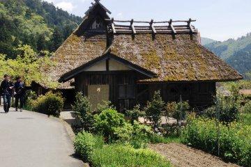 <p>Take a stroll around the mainly pedestrian laneways of Miyama village</p>