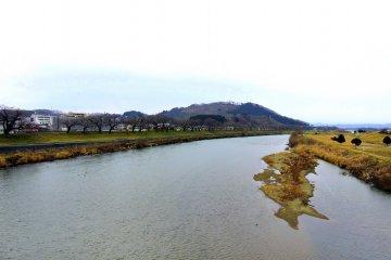 미야기 현 시로이시가와의 슬픈 풍경은...