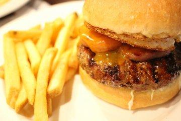 <p>The Legendary Spam &amp; Egg Burger</p>