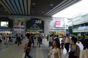 JR Kyobashi Station Promenade