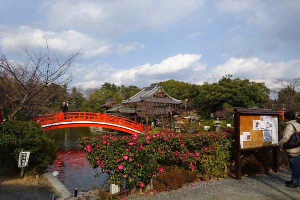 赤い橋願い橋