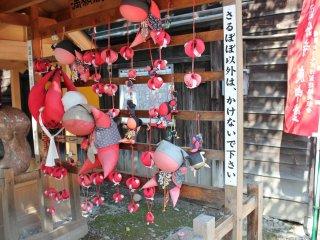 Талисман Сару-бобо, пришедший из г.Такаяма