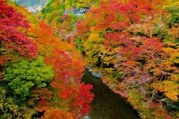 Okutama's Kazuma Gorge