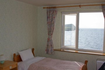 Nice twin room with sea view