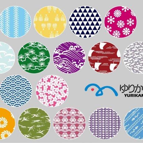 오다이바의 색과 패턴