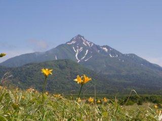 Mt. Rishiri dans toute sa splendeur