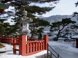 Pemandangan dari Kuil Chuzenji