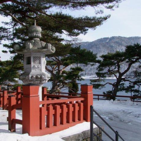 Lake Chuzen-ji in Winter