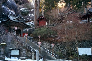 <p>The last part of the journey to the inner part of the shrine</p>