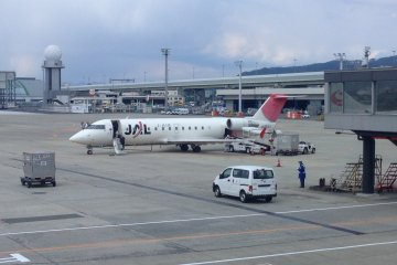 JAL gives you access to regional routes in Hokkaido and Tohoku