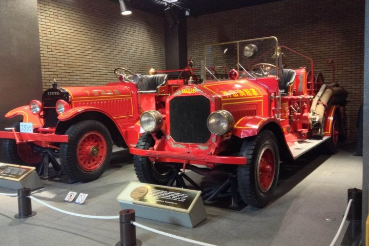 Fun at the Fire Museum