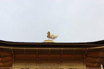 지붕 위에는 봉황이 장식되어 있다